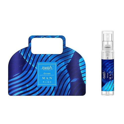 3ML Long Lasting Perfume For Men And Women Mini Spray Glass Bottle Flirting Parfum Light Fragrance Attracts The Opposite Sex