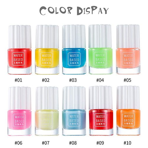 Professional Gel Nail Polish Art Pink Blue Green Purple Translucent Transparent Color Jelly Nail Polish Gel Popular