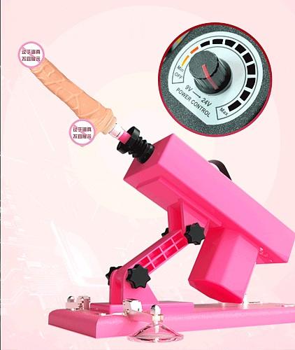 Automatic Telescopic Sex Machine Female Masturbation Pumping Gun With Dildos Attachments  Sex Machines For Women Sex Products