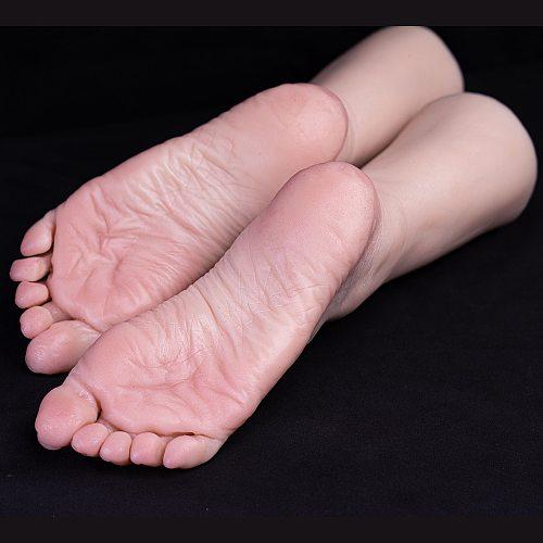 Sexy Foot Model Adult Female Props Sketch Drawing Shoe Socks Lantine Fake Lifelike Fetish Simulation Liquid Silicone TGJ3816