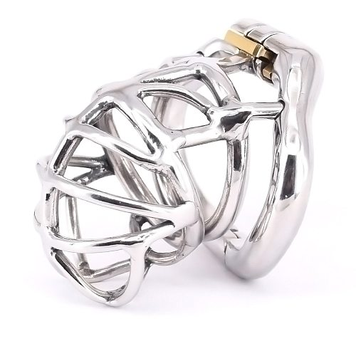 SODANDY Ball Cage Erotic Urethral Lock Small Male Chastity Device Stainless Steel Chastity Belt for Men Intimate Toys Sex Goods