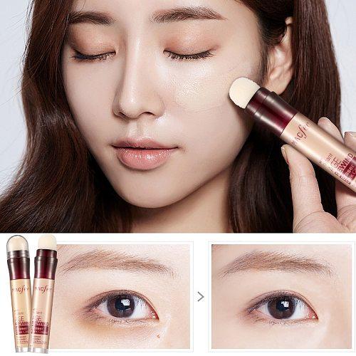 Dark Circle Eraser Concealer Pen Under Eye Concealer Highlighter Cover up Acne Scars Fine Lines Lip Primer Flawless Face Makeup