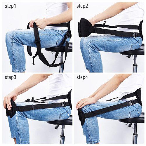 Adjustable Adult Sitting Posture Correction Belt Pad Support Better Spine Braces Lower Back Corrector Improve Hunchback Office