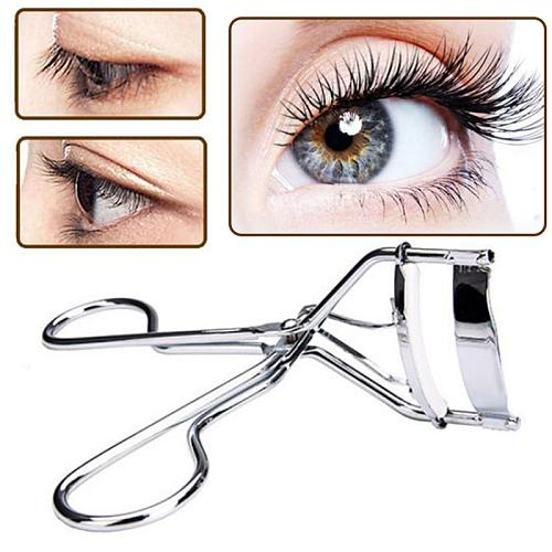 1pc Black/Silver White Curl Eyelash Curler stainless steel eyelash cosmetic makeup eyelash curler curling eyelashes Tool