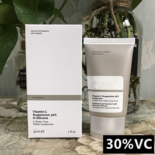Vitamin C Suspension 30% Ordinary  In Silicone 30ml Brighten Whitening Primer Base Makeup Face Foundation Make Up