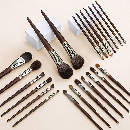 OVW 22 pcs Set Kit  Makeup Brushes Soft Natural Goat Hair Cosmetic Beauty Brush Tools