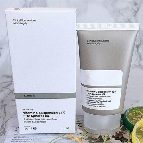Makeup Primer 23% Vitamin C Suspension 2% 30ml Hyaluronic Acid Microparticle Essence Brighten Skin Moisturize Ordinary Cosmetic
