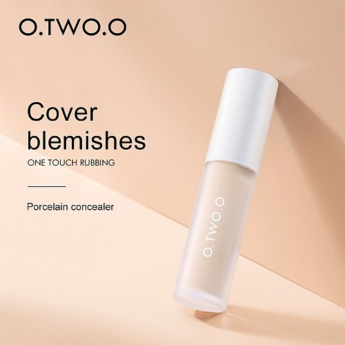 O.TWO.O Makeup Liquid Concealer Cream Long Lasting Moisturizing Pore Acne Cover Full Coverage Concealer Smooth Oil Control