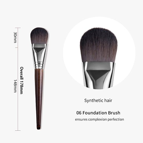 OVW Foundation Brush Brush Professional Beauty Makeup Makeup Tool brochas maquillaje profesional pinceaux maquillage