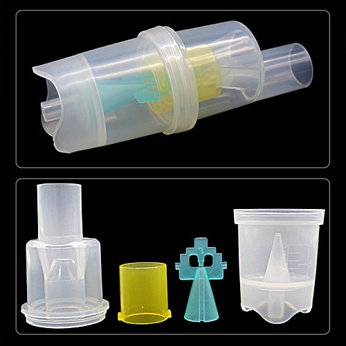 Health Care 10ML Inhaler Parts Medicine Tank Cup Compressor Nebulizer  Atomized Spray Injector Free Shipping