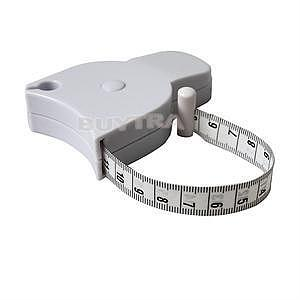 New Style Fitness Accurate Caliper Measuring Tape Body Fat Weight Loss Measure Retractable Ruler Accessories