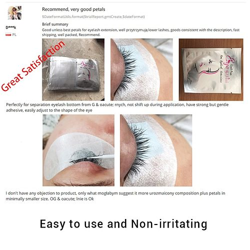 50/100 Pairs Eyelash Patches for Eyelash Building Under Eye Pads Lint Free Gel Patches Lash Grafting Eyelash Extension Tools