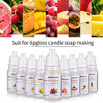 24 Flavors Natural Flavor Essence for Handmade Cosmetic Lip Gloss Base Lipgloss DIY Food Grade Fragrance Flavoring Essential oil