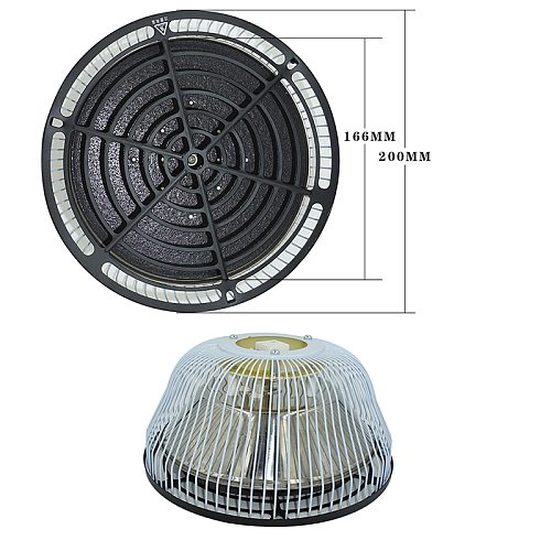 TDP Replacement Head 7.8  220V 110V TDP Physiotherapy Mineral Therapy TDP Far Infrared Heat Lamps 200mm Diameter