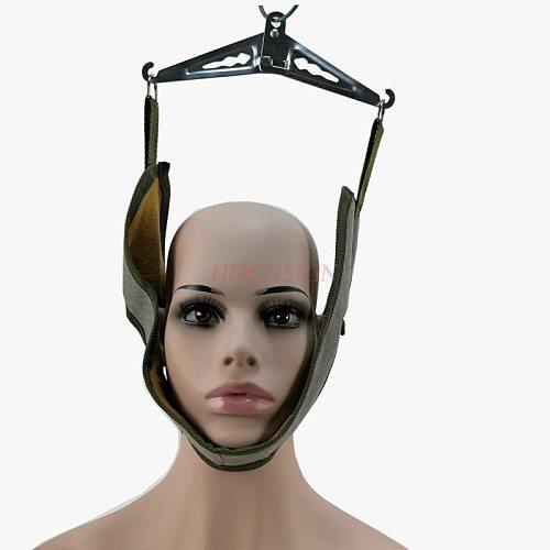 Cervical traction belt home neck stretching fixation belt correction hanging neck adult children traction headgear