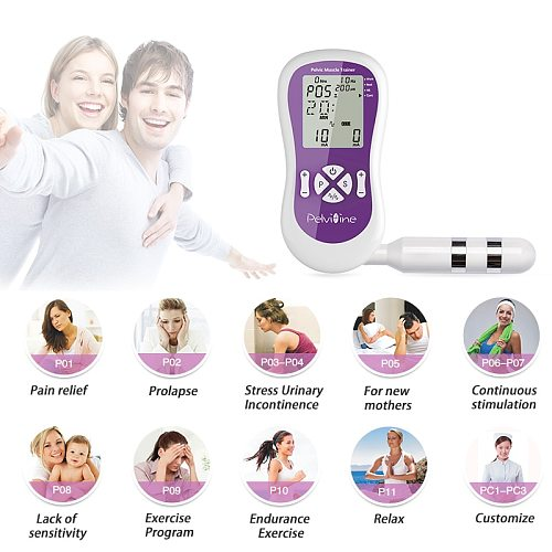 FDA approval TENS Kegel Trainer Electric pelvic Muscle stimulation incontinence Therapy Women Improve intimate sensation