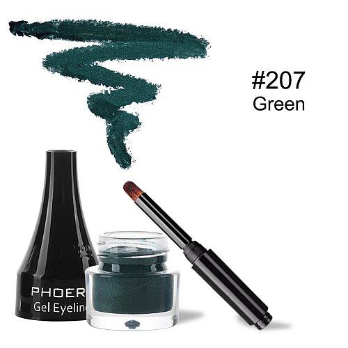 Green Lasting Matte Eyeliner Pen Natural Gel Eyeliner Gum Not Fade Easy To Wear Waterproof Eye Liner Makeup Tools