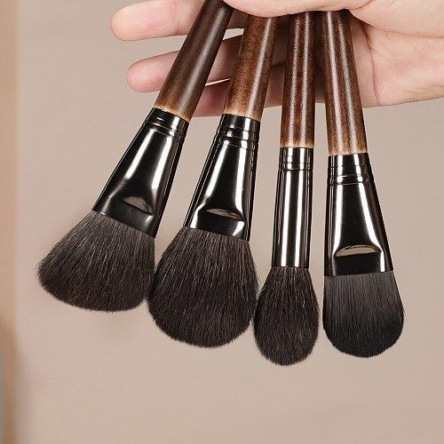 OVW 22/24 PCS Makeup Brushes Set Professional Tools Goat Hair Powder Blusher Eyeshadow Blending Foundation Cosmetic for Make Up