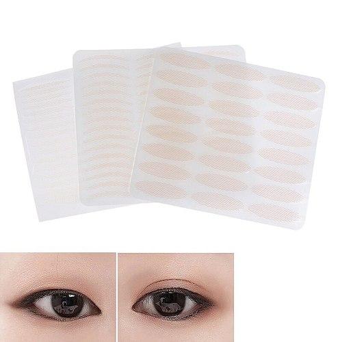 240pcs/5Sheets Gauze Mesh Lace Invisible Double-fold Eyelid Sticker Transparent Invisible Self-adhesive Eyelid Tape Sticker HOT!