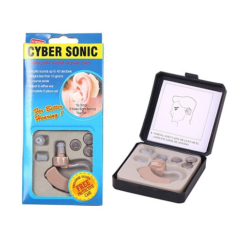 Mini Hearing Aid Portable Ear Sound Amplifier Adjustable Ear Hearing Amplifier Aid Kit Tone Hearing Aids for the Deaf Elderly