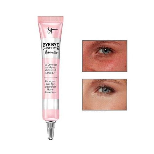 Eye Concealer IT Cosmetics Bye Bye Under Eye Illumination Concealer Waterproof Full Coverage Anti-Aging Concealer Eyes Makeup