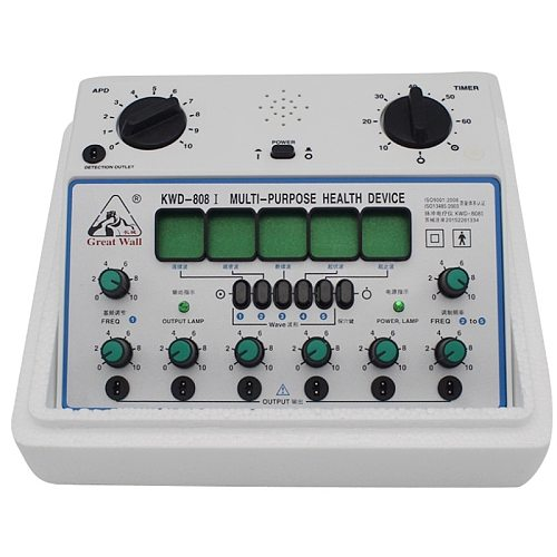 KWD-808 I Multi-Purpose Health Care Relax Detect Acupuncture Acupoints 6 Channels Output Patch Massager