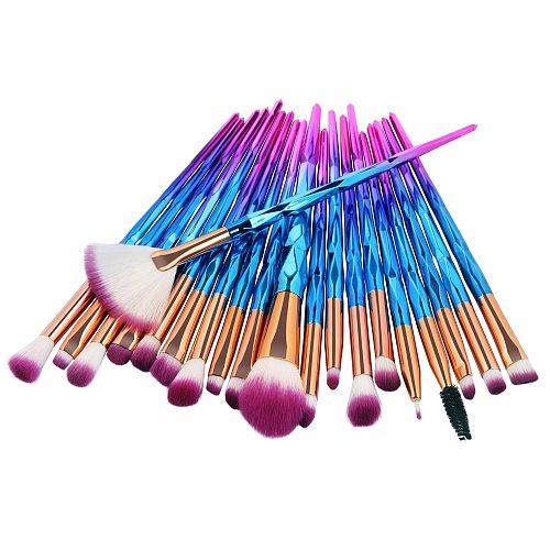 20/10PCS Professional makeup brushes set Foundation Eyebrow Eyeliner Blush Cosmetic Concealer Brush foundation sets Maquiagem