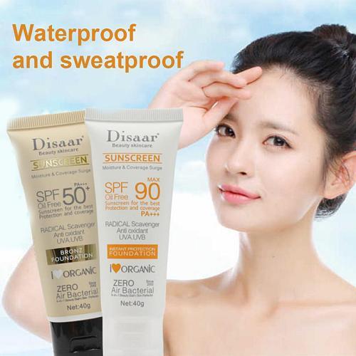 Body Facial Sunscreen Whitening Moisturizing Sun Cream Skin Protective Cream Anti-Aging Oil-control SPF 90 50 Cosmetic TSLM1