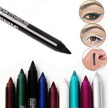 2019 Long-lasting Eyeliner 12 Colors Eye Liner Pencil Pigment Waterproof Eyeliner Pen Eye Cosmetics Makeup Tools delineador ojos