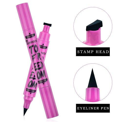 1pcs black Eyeliner Pen Pearl Eye Shadow Pen Waterproof and Sweat Is Not Blooming Make Up Comestics Long-lasting Eye Pencil