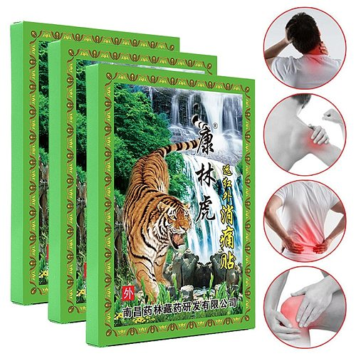 8Pcs /Bag Neck Back Tiger Balm Pain Relieving Patch Medical Plaster Arthritis Joint Pain Killer Herbal Sticker Health Care
