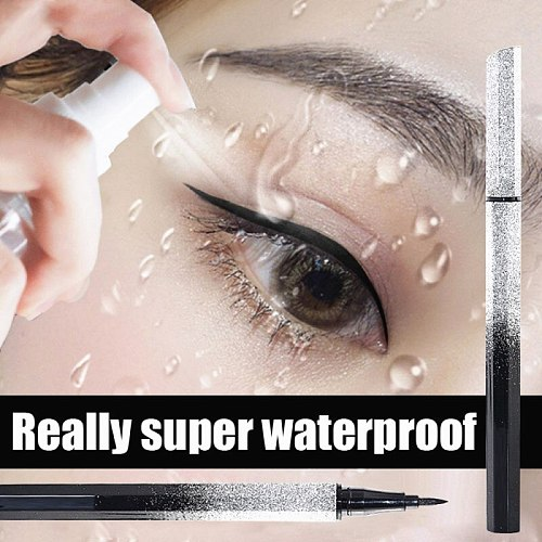 2021 Fashion Starry Sky Eyeliner Pencil Black Waterproof Long Lasting Liquid Eyeliner Pen Natural Fine Drawing Eyeliners Pencil