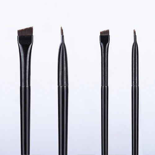 OVW 2PCS Eye Liner Eyebrow Brush Professional Makeup Brush  Cosmetic Tool For Eye Brow Gell Crease Brush Eyeliner Make Up