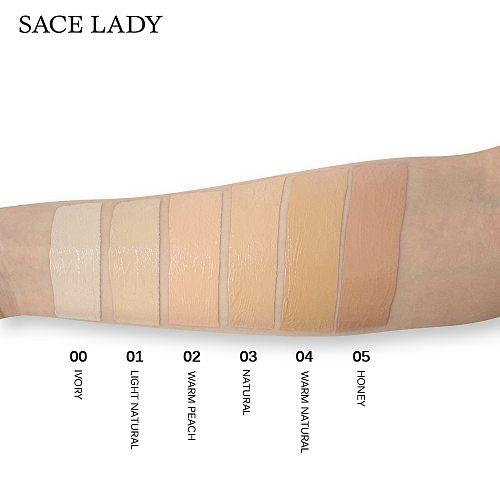 SACE LADY Liquid Concealer Full Cover Makeup Face Corrector Cream Waterproof Eye Dark Circles 6ml Natural Cosmetic Wholesale
