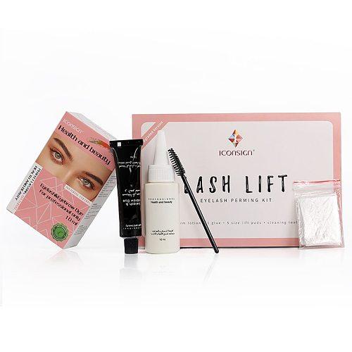 ICONSIGN Upgrade Version Lash Lift Kit Eyelash&Eyebrow Dye Tint Lifting Eyelash Tint Eyebow&Lashes