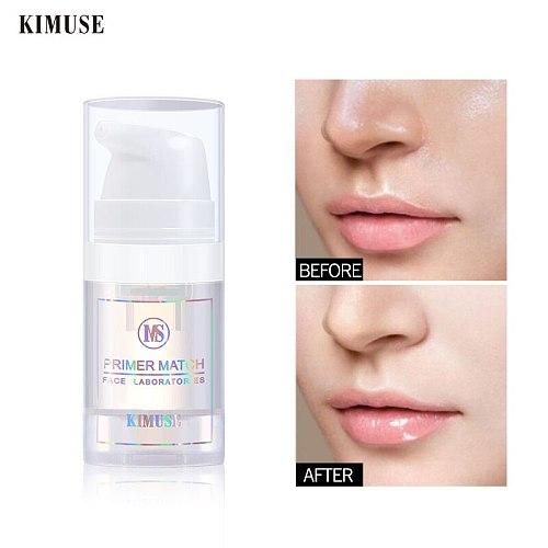 KIMUSE Invisible Pore Face Primer Makeup Liquid Matte Base Make Up Oil-control Smooth Fine Lines Pore Cream Cosmetic Wholesale