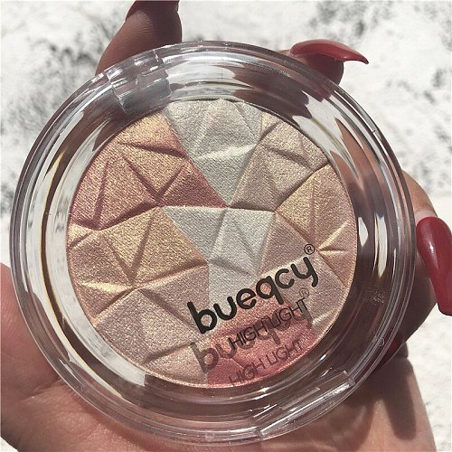 Makeup Highlighter Palette Bronzer Highlight Shimmer Glitter Face Ultra-concentrated illuminator Body Glitter Brighten Skin