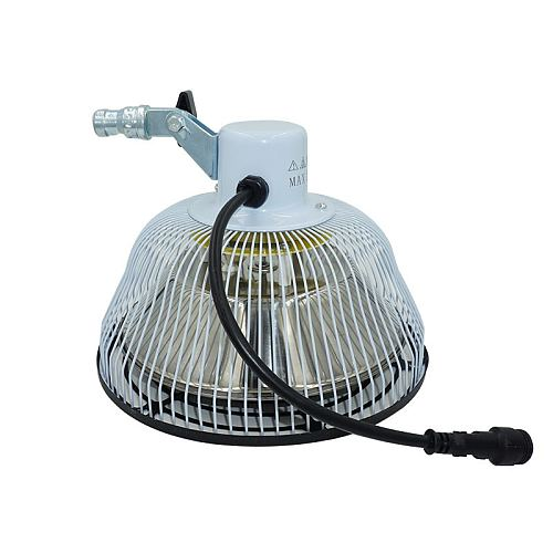 TDP Replacement Head 7.8  in Replacement Head for 110V or 220V TDP Infrared Heat Lamps - Fits Most but not All TDP Lamp