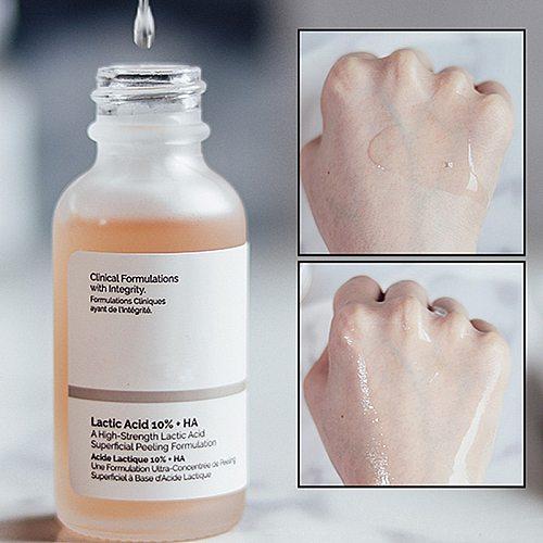 Face Clear Acne Lactic Acid 10% + HA A High-Strength Lactic Acid Superficial Peeling Formulation 30ml Ordinary Make Up Primer