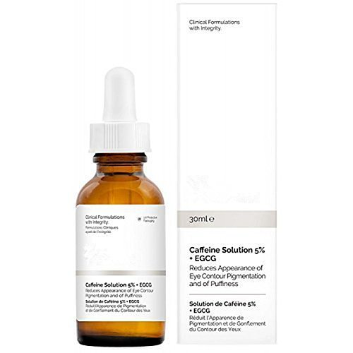 Ordinary Caffeine Solution 5% + EGCG Reduces Eye Puffiness and Dark Circles Eyes Makeup Cosmetic Firming Face Repair 30ml