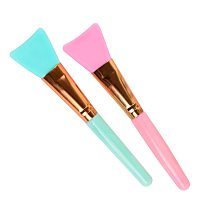 1pc Silicone Makeup Brushes Foundation Makeup Brush Soft Facial Face Mask Brush Mud Cosmetic Skin Care Make Up Tools TXTB1