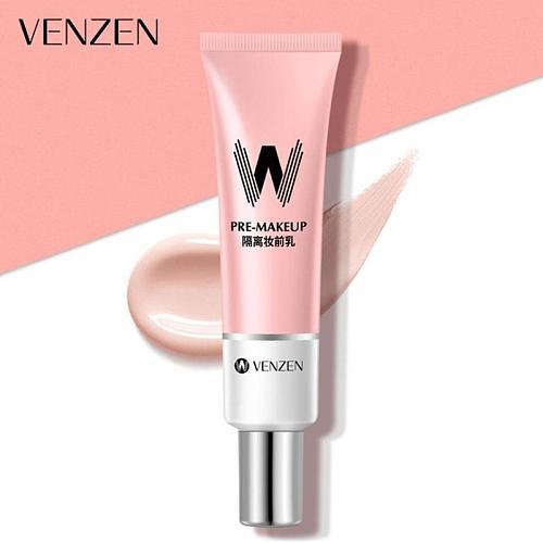 VENZEN W Primer 30ml Make Up Shrink Pore Primer Base Smooth Face Brighten Makeup Skin Invisible Pores Concealer Korea Cosmetic
