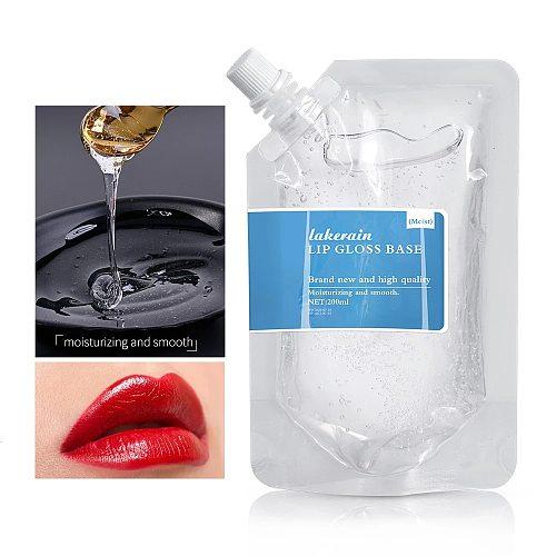 25/50ml DIY Lipstick Raw Material Moisturizing Matte Transparent Clear Lip Gloss Base Gel Oil Non-stick Gel Lip Gloss Lipgloss