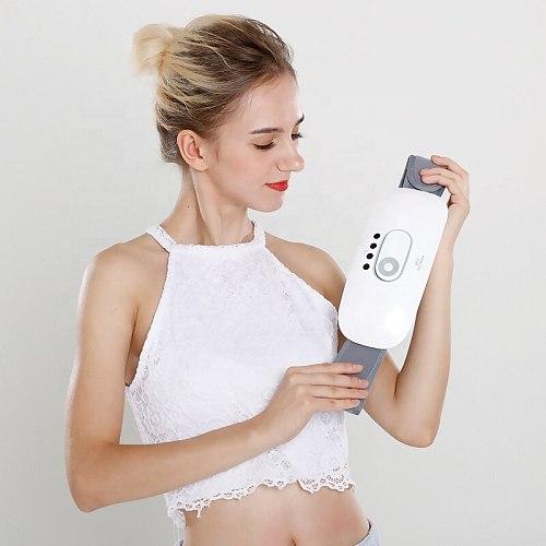 Electric Portable Heating Vibrating Back Massager Belt Lumbar Spine Massage Pain Relief