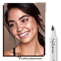 Pudaier Freckle Pen Lifelike Soft Waterproof Dot Spot Pen Fine Depiction Natural Freckle Face Contouring Makeup Tools TSLM1