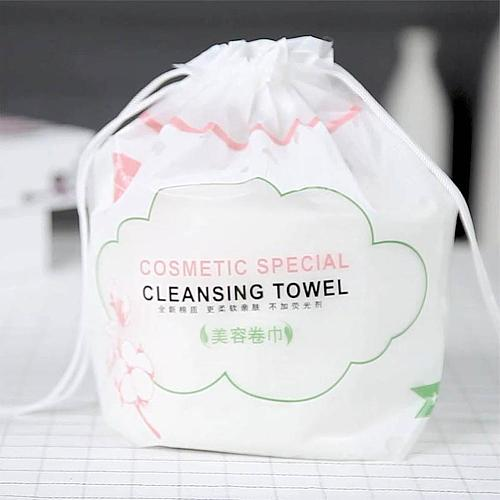 Disposable Face Towels Cotton Facial Tissue Makeup Remover Washable Pads Make up Wipes Bathroom Dry Wet Skincare Roll Paper