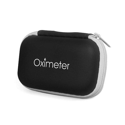 EVA Neutral Oximeter Zipper Bag Storage Bag Oximeter Storage Box Oximeter Cover Kit Bag Protection Bag