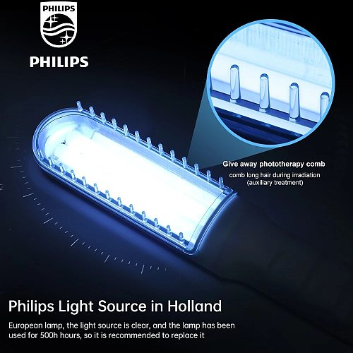 UVB 311NM  Phototherapy Instrument Household Vitiligo Psoriasis Treatment Ultraviolet Lamp Treatment Lamp Phototherapy Vitiligo
