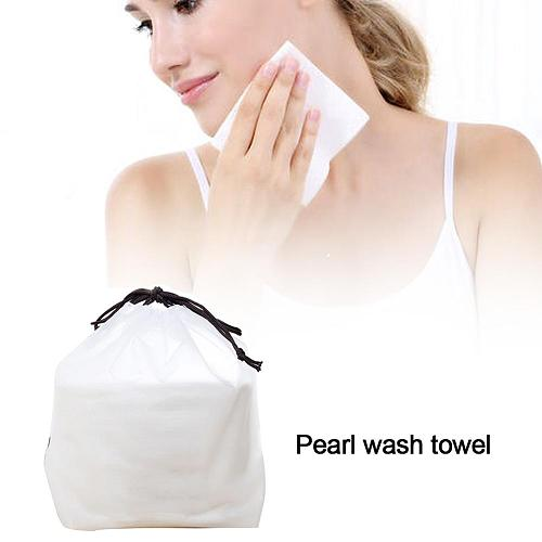 New Hot Disposable Face Towel Cleansing Towel Roll Pearl Pattern Portable Cotton Wipe Face Towel Facial Wash Paper