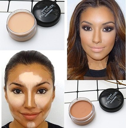 concealer foundation cream ultra-long-lasting deep complexion acne marks cover spots acne cement moisturizing face waterproof